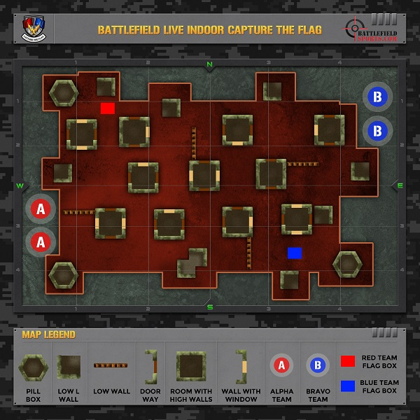 capture the flag indoor map