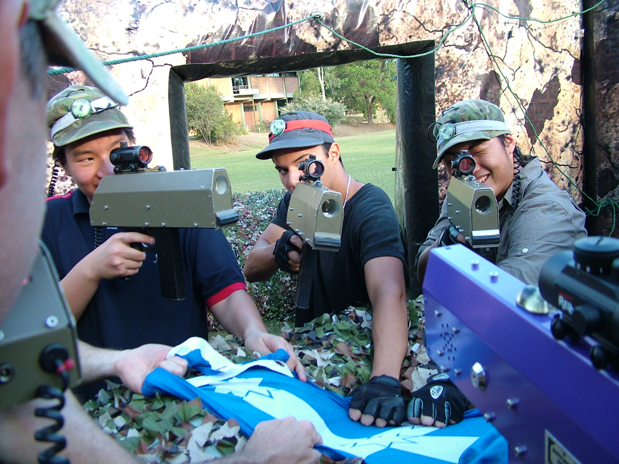 capture the flag - mobile laser tag