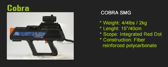 cobra laser tag gun for sale
