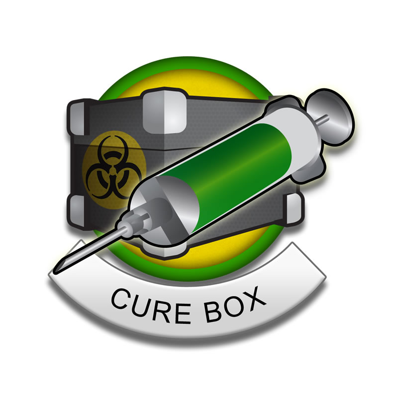cure box badge
