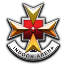 indoor gaming guns badge