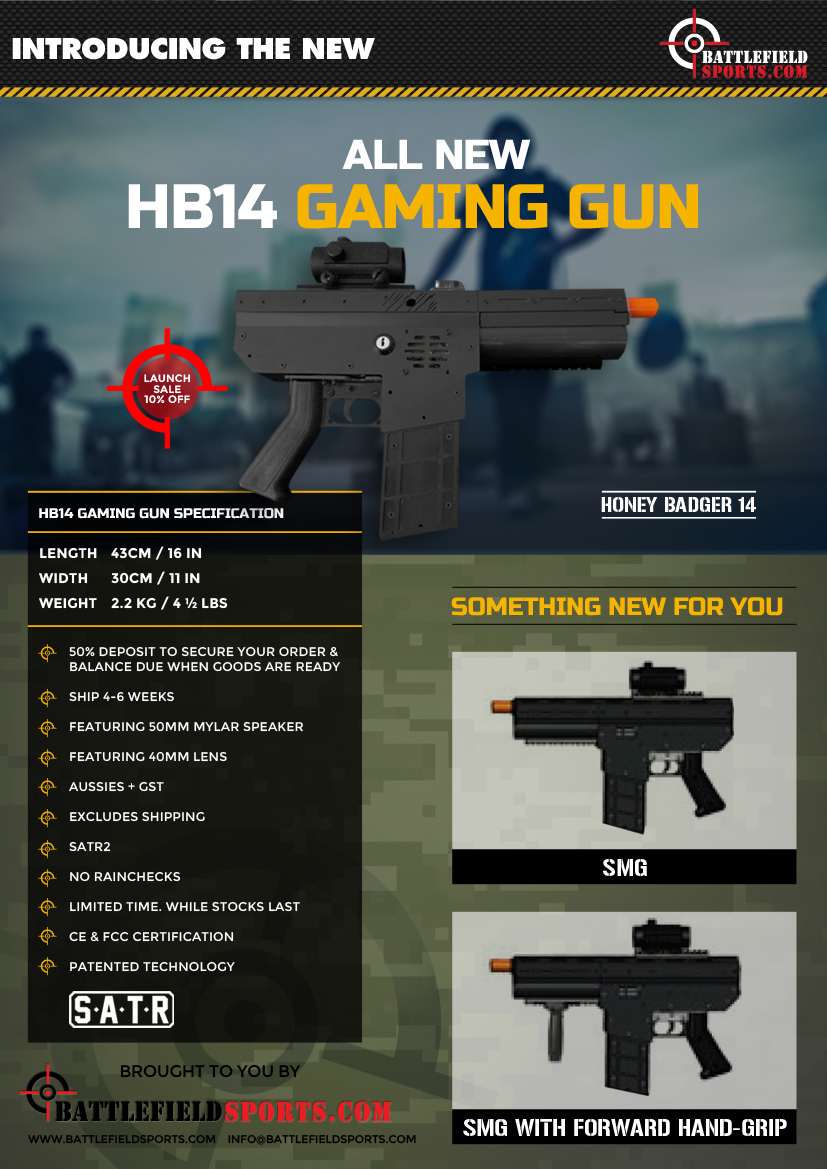 honey badger HB14 smg
