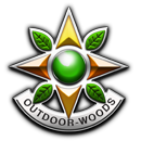 outdoor gaming guns badge