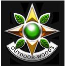 outdoor gaming guns badge