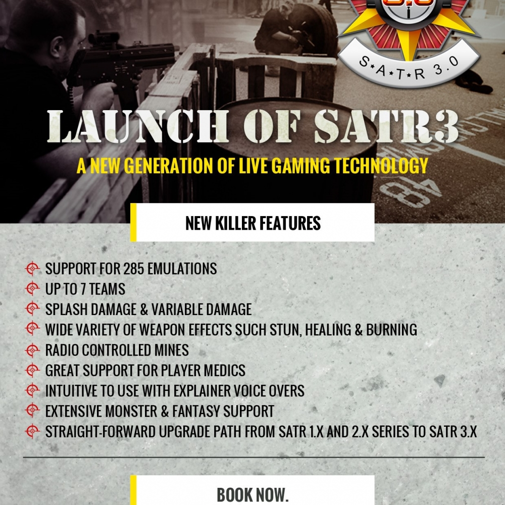 SATR3 Killer Features