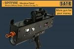 Spitfire Machine Pistol