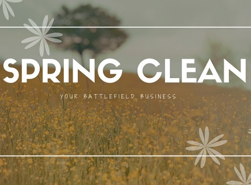 spring clean your small business