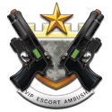 vip escort game badge