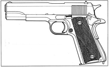 weapon emulation colt M-1911