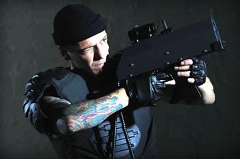 indoor laser tag vest and phaser
