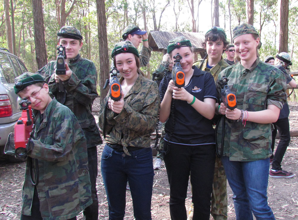 laser skirmish gamers