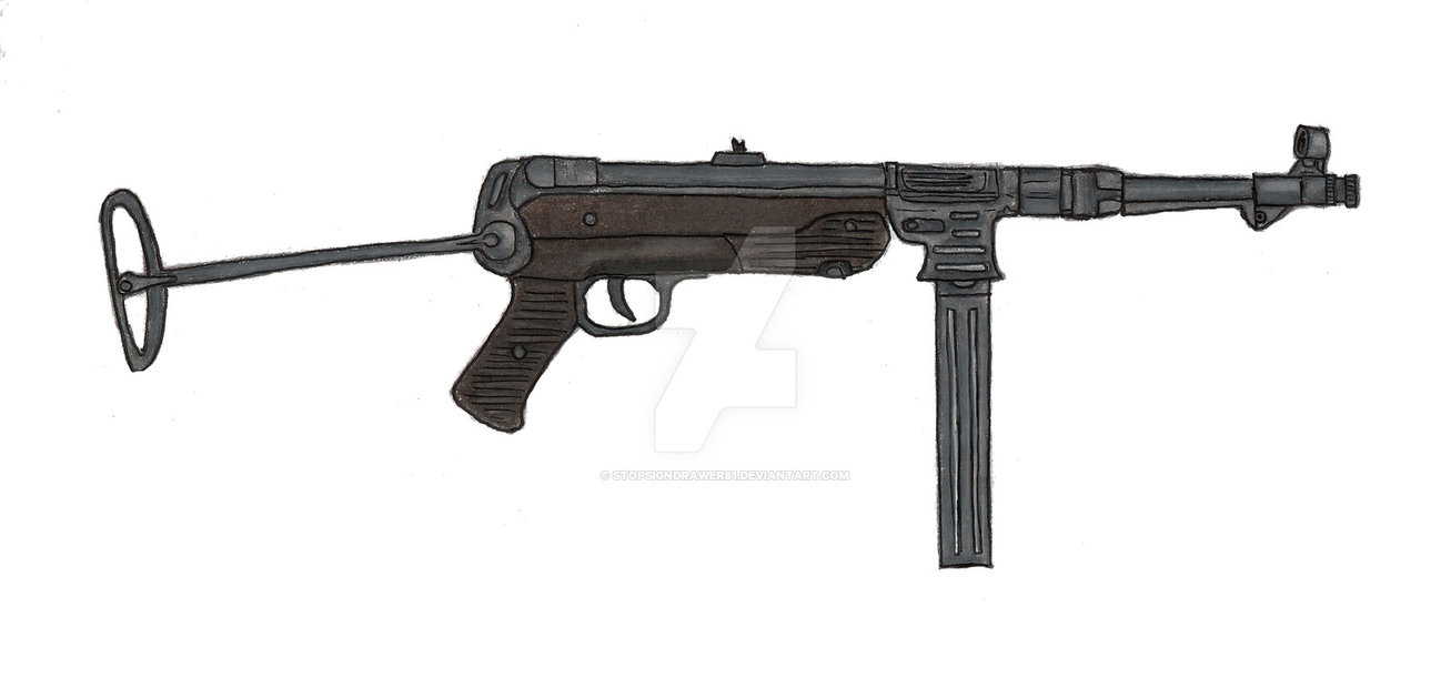 MP38 Mp40 machine pistol