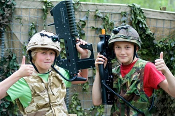 outdoor laser tag venues