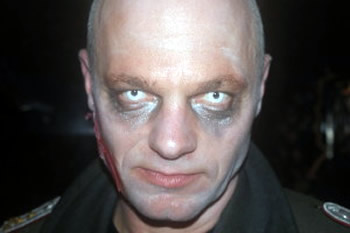 zombie host from Battlefield LIVE Pembrokeshire