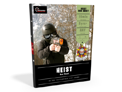 Heist game run sheet