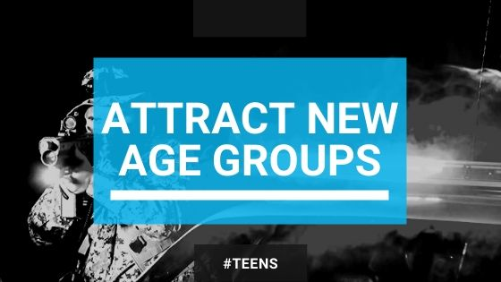 attract and engage new age groups
