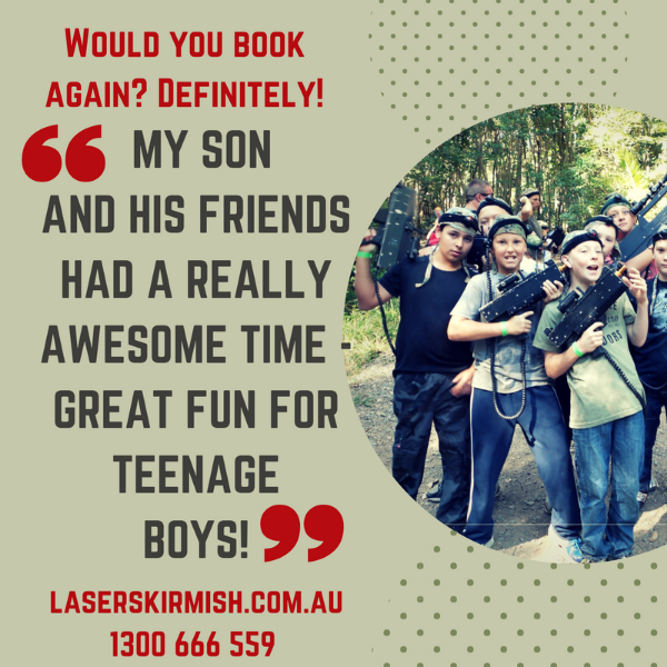 testimonial for laser skirmish