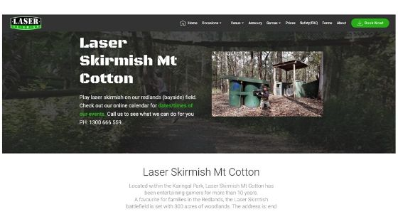 laser skirmish mt cotton