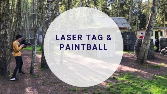 Paintball Fields add laser tag