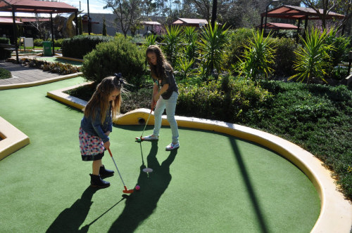 laser tag and mini golf