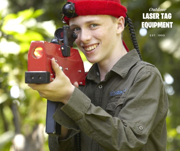 outdoor laser tag equipment