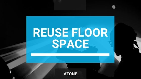 advaptive reuse and repurposing of floor space