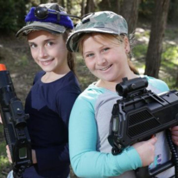 summer camps love laser tag