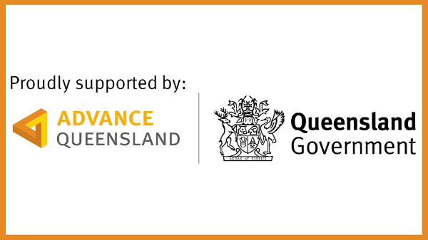 "supported by Advance Qld ""ignite ideas"" grant"