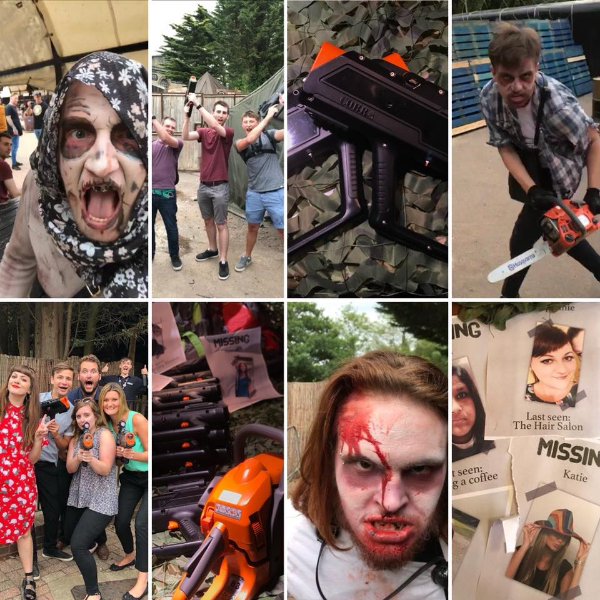 zombie hunting in thorpe park