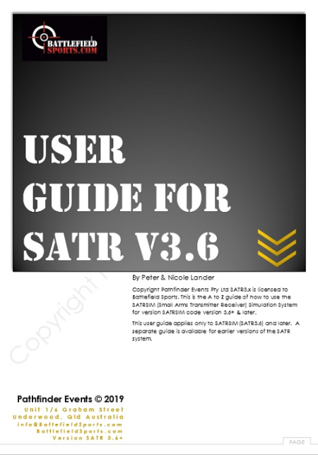 satr3 user guide