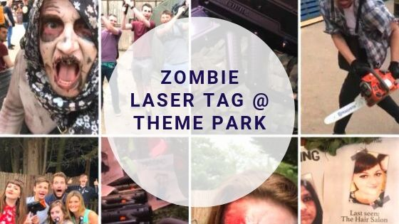 Zombie Laser Tag at Thorpe Park